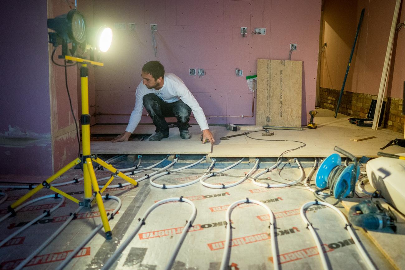 Underfloor Heating Electric Or Water