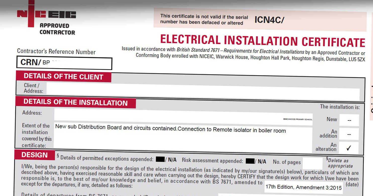 How Much Does It Cost To Get Electrical Safety Certificate In 2020 Mybuilder Com